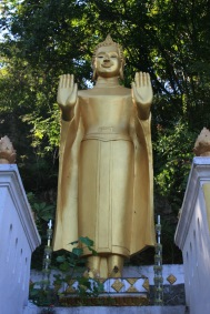 Buddha on Mt Phou Si