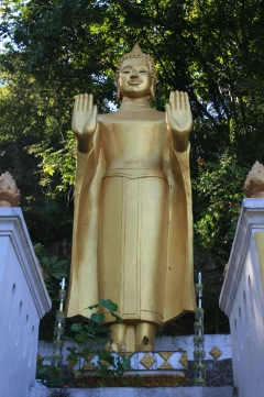 Buddha on Mt Phou Si