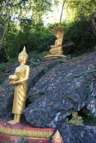 Buddhas on Mt Phou Si