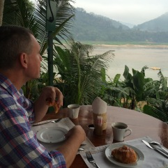 French Provincial breakfast in Luang Prabang