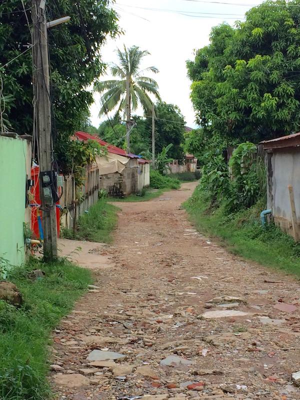 Local Laneway Vientiane