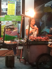 This lady made a mean green papaya salad which is not for the faint hearted