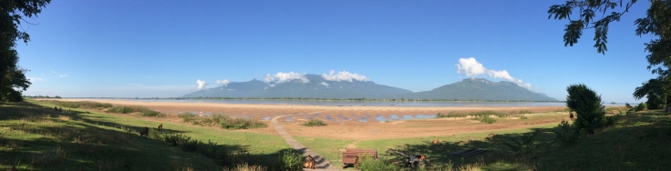 Champasak Province from Done Daeng Island