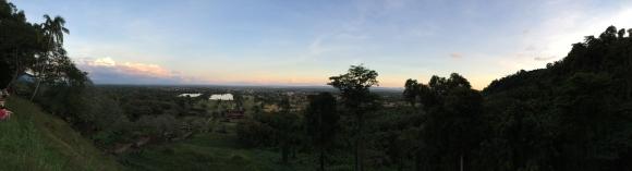 Champasak Province from Wat Phou