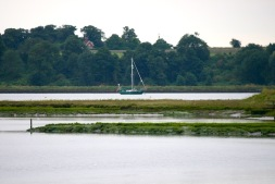 Boat on the River Orwell