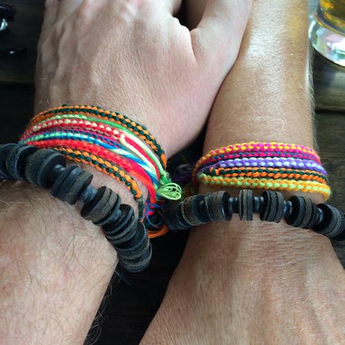 Tubing Bracelets Vang Vieng