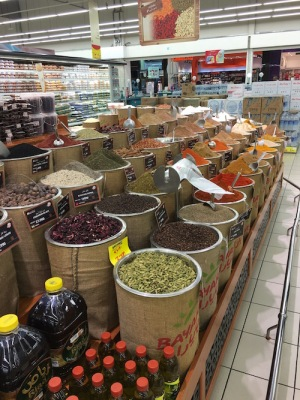 Spices available in Muscat