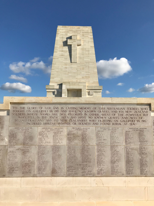 Part of the Memorial Wall at Lone Pine