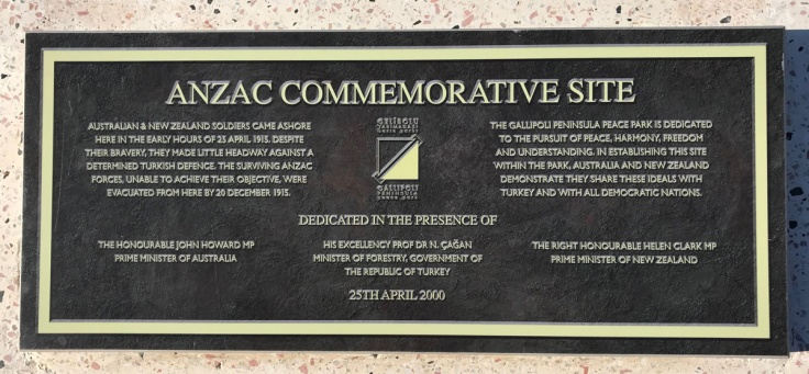 ANZAC Commemorative Site