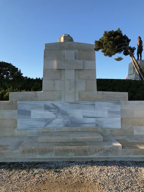 Chunuk Bair MIA Memorial