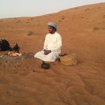 Coffee, dates and dunes