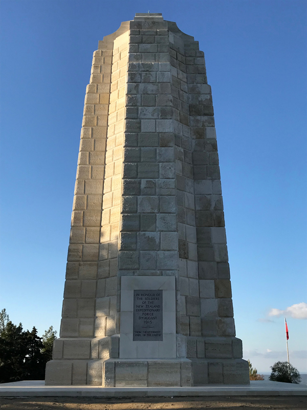 Memorial at Chunuk Bair