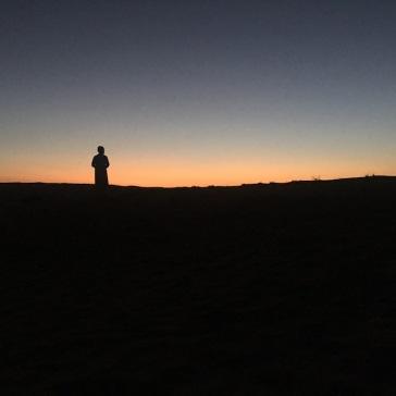 Prayers Oman desert